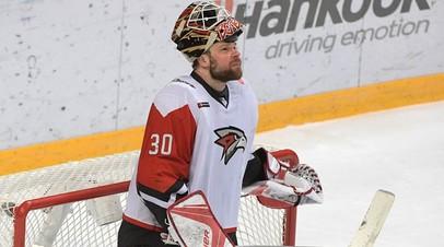 Бобков будет основным голкипером сборной России по хоккею в матче Евротура со Швецией