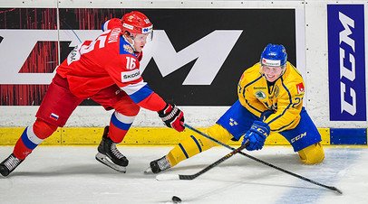 Спасение с 0:2 и роковой рикошет от Зернова: сборная России по хоккею уступила Швеции в матче Евротура