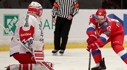 Воробьёв прокомментировал победу сборной России над Чехией в матче Шведских хоккейных игр