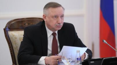 Беглов принял отставку глав администраций трёх районов Петербурга