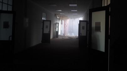 После обрушения перекрытий в здании вуза в Петербурге возбуждено дело