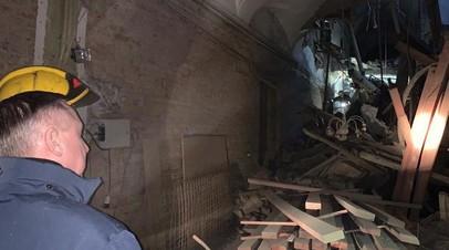 Бастрыкин направил в Петербург криминалистов после обрушения перекрытий в ИТМО