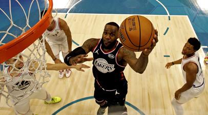 Команда Джеймса обыграла команду Адетокунбо в Матче всех звёзд НБА