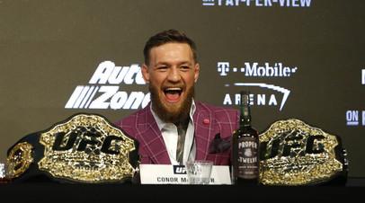 СМИ: Макгрегор заключил соглашение о поединке с американским бойцом UFC Серроне