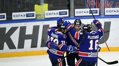 СКА одержал четвёртую победу подряд, выиграв у «Локомотива»