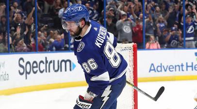 Кучеров признан третьей звездой дня НХЛ