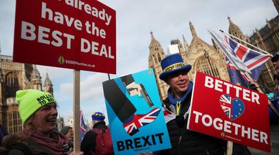 Голосование британского парламента по сделке по брекситу пройдёт до 12 марта