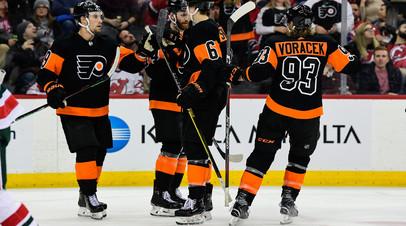Проворов и Наместников отметились голами в матчах регулярного чемпионата НХЛ