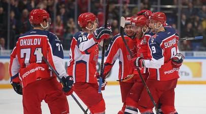 ЦСКА обыграл «Витязь» в третьем матче серии в плей-офф КХЛ