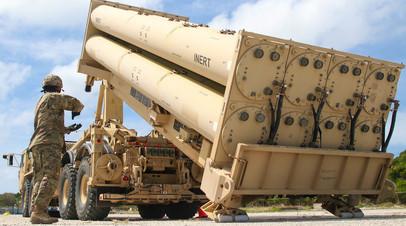США развернут в Израиле системы ПРО THAAD в ходе военных учений