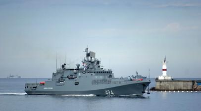Россия и Турция провели совместные учения в Чёрном море