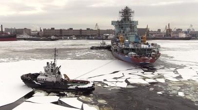 В Санкт-Петербурге готовят к испытаниям самый мощный атомный ледокол «Арктика»
