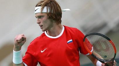 Теннисист Рублёв выступит в основной сетке турнира серии «Мастерс» в Индиан-Уэллсе
