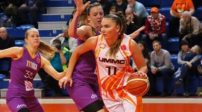 УГМК обыграл «Ригу» и вышел в «Финал четырёх» женской баскетбольной Евролиги
