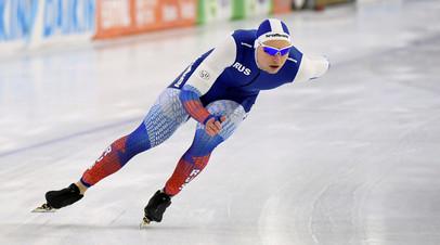 Кулижников занял третье место в общем зачёте Кубка мира по конькобежному спорту на 1000 метров