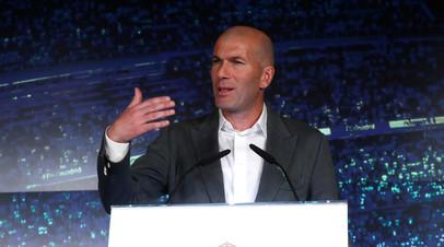 «Реал» посвятил видеоролик возвращению Зидана на пост наставника команды